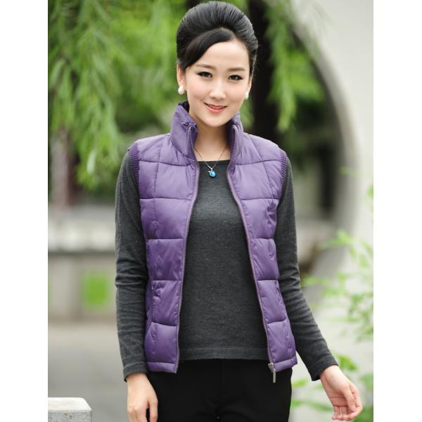 2019 women winter autumn vest sleeveless candy color solid cotton wadded waistcoat with zipper plus size 4XL casual short jacket